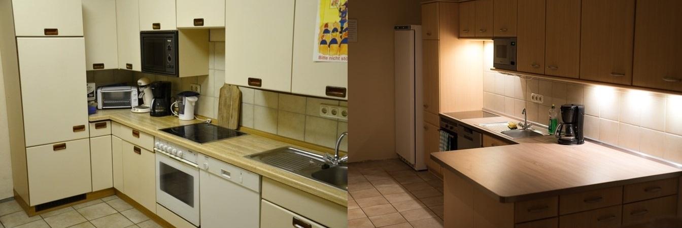 Neue gebrauchte kuche im feuerwehrhaus for Suche gebrauchte küche